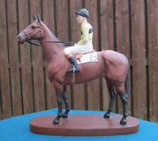 RARE BESWICK FIGURE OF ARKLE WITH PAT TAAFFE UP 2084 - PERFECT!