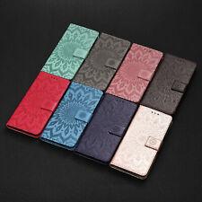 Sun Flower Flip Wallet Phone Case for Motorola G9 G100 G10 G60 G8 E7 G50 G Power