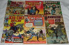 KID COLT OUTLAW 131# 224#,TWO GUN KID 116# 81# RAWHIDE KID 53# 81# 6 COPIES