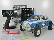 Tamiya 1/10 RC Sand Scorcher Racing Buggy + Battery + ESC + Futaba 2.4Ghz RTR