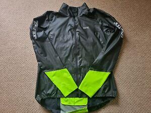 GORE C5 GORE-TEX SHAKEDRY 1985 Hi Viz Jacket Black/Neon Yellow Size XXL