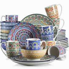 Vancasso Mandala Kombiservice Porzellan handbemaltes Geschirrset böhmischer Stil