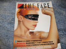 The Face magazine Oct 1983 #42 Annie Lennox Brian Eno Custom Scooters Jamie Reid