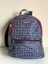 NEW! TOMMY HILFIGER RED BLUE TRAVEL BACKPACK BAG PURSE $89 SALE