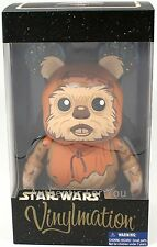 "NEW Disney Parks Star Wars WICKET the EWOK Large 9"" Vinylmation LE 1000"