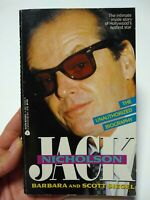 Jack Nicholson The Unauthorized Biography (1991 Avon Books) Vintage, Paperback