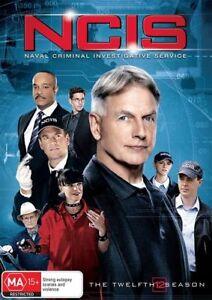 NCIS : Season 12 (DVD, 2015, 7-Disc Set), NEW SEALED AUSTRALIAN RELEASE R4