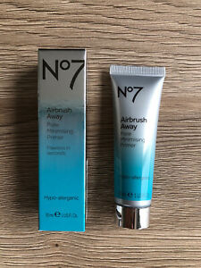Boots No.7 Airbrush Away Pore Minimising Primer Hypo-Allergenic 30ml New & Boxed
