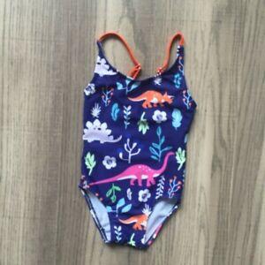 Cotrio Unicorn Swimwear Girls One Pieces Rash Guard Set Dinosaur Sun Suits with Sun Hat UPF 50+