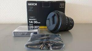 Nikon Nikkor Z 14-30mm F/4 S Zoomobjektiv, Ultra-Weitwinkel, neuwertig 1:4