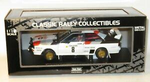 1/18 Audi Quattro A1   Monte Carlo Rally 1983   S.Blomqvist / B.Cederberg