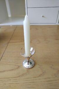 4 x Glass Bobeche/candle wax protectors