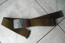 CCCP veritable ceinture SOLDAT russe Armée Rouge soviétique URSS T.1  N 141