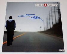 EMINEM SIGNED AUTHENTIC 'RECOVERY' VINYL RECORD LP w/COA SLIM SHADY 8 MILE RAP