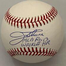 JIM THOME SIGNED MLB BASEBALL W/ MLB REC 13 WALKOFF HR INDIANS PHILLIES BECKETT