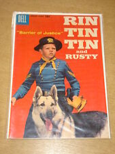 RIN TIN TIN AND RUSTY #23 VG+ (4.5) DELL COMICS FEBRUARY 1958