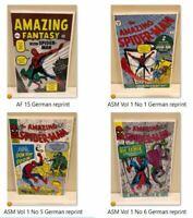 Amazing Spider-Man v.1 GERMAN Reprints PICK Choose ASM #1 2 3 4 5 6 7 (NM)