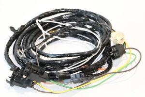 1970-1972 Nova Rear Body Light Wiring Harness w/o seat belt warning LH Side ONLY