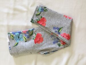 NWT Carter's Floral Leggings Girls Gray Many Sizes