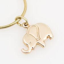 goldener Anhänger 333er Gold 8 Karat Gelbgold Elefant Kettenanhänger neu