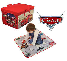 Disney Cars Kids Storage Box Toy Chest For Bedding Laundry Lightning McQueen