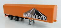 Auflieger TrailerTrain orange Wiking 1:87 H0 ohne OVP [NM15-B3]