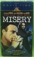 MISERY VHS 1990 James Caan Kathy Bates Based On The Novel By Stephen King