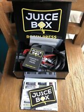 🖤💛JU1CE BOX ROSIN PRESS 💛🖤presse seulement extraction+10 Silicone Box