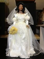 Paradise Galleries Treasury Collection Amber African American Bride Doll
