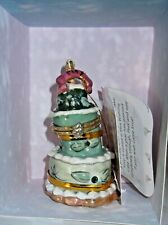 Blue Sky Clayworks Heather Goldminc May Happy Birthday Wishing Cake