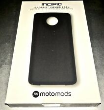 Incipio Mods Offgrid Power Pack Battery For Motorola Moto Z Force Z2 Black NEW