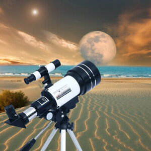 High-definition optical astronomical telescope with tripod Outdoor viewing