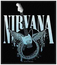 NIRVANA - Aufnäher Patch Guitar 9x10cm