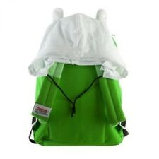 Adventure Time Lime Green Finn Backpack Bag w/ Hat