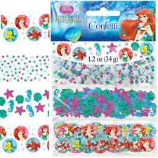 Disney Ariel Little Mermaid Party Decoration Confetti Table Sprinkles