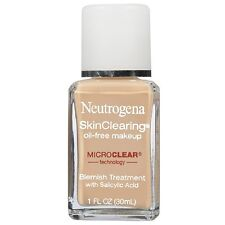 Neutrogena skinclearing Sin Aceite Maquillaje Natural Marfil (Trata Acne + Maquillaje) 30 Ml