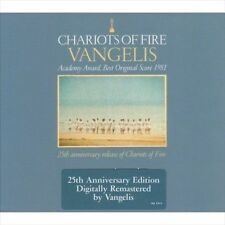 VANGELIS Chariots Of Fire CD BRAND NEW 25th Anniversary Digipak
