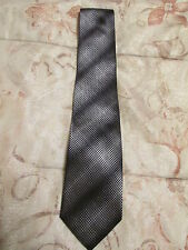 Kenneth Cole Reaction 100% SILK Men's Black Multicolor Tie New w/o Tag !