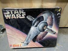 AMT 1995 Star Wars Slave 1 Boba Fett ShipModel Kit  Skill Level 2 New In Box
