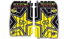 BLACKBIRD HONDA CRF 450 2011 2012 GRAFICHE ADESIVI GRIGLIE RADIATORE ROCKSTAR
