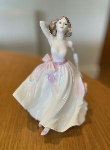 Coalport Ladies Of Fashion Young Love Figurine
