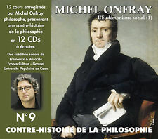 MICHEL ONFRAY - CONTRE HISTOIRE DE LA PHILOSOPHIE, VOL. 9 * USED - VERY GOOD CD