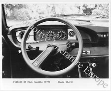 1977 CITROËN GS CLUB PRESSEBILD PRESS FACTORY PICTURE BILD PHOTO ORIGINAL..