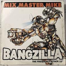 "MIX MASTER MIKE - BANGZILLA / FULL RANGE EARMUFF (12"")  2004  RARE  BEASTIE BOYS"