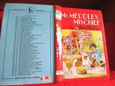 Enid Blyton MR MEDDLE'S MISCHIEF 1970 hardcover Rewards series #26  RENE CLOKE