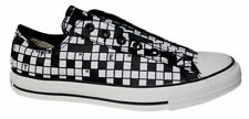 Checked Canvas Slip On Shoes for Women