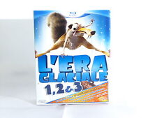 BOX l'era glaciale 1 2 3 + dvd bonus COFANETTO IN ITALIANO BLU RAY NUOVO