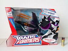 Transformers ANIMATED Decepticon SKYWARP Hasbro 100% CHERRY MISB!!