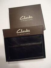 Clark's Signature Leather Slim Wallet, Black-See Description Link for Pictures