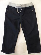Justice Girl's Size 10 Pull On Stretch Denim Pedal / Cropped Pants Euc